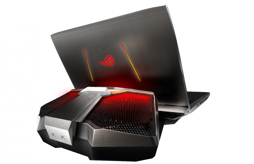 Начались продажи ноутбука ASUS ROG GX700