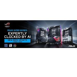 Новый BIOS для материнских плат ASUS X299 в ответ на обновление микрокода Intel