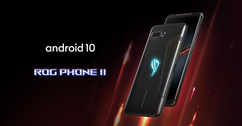 ASUS выпускает Android 10 для ROG Phone II