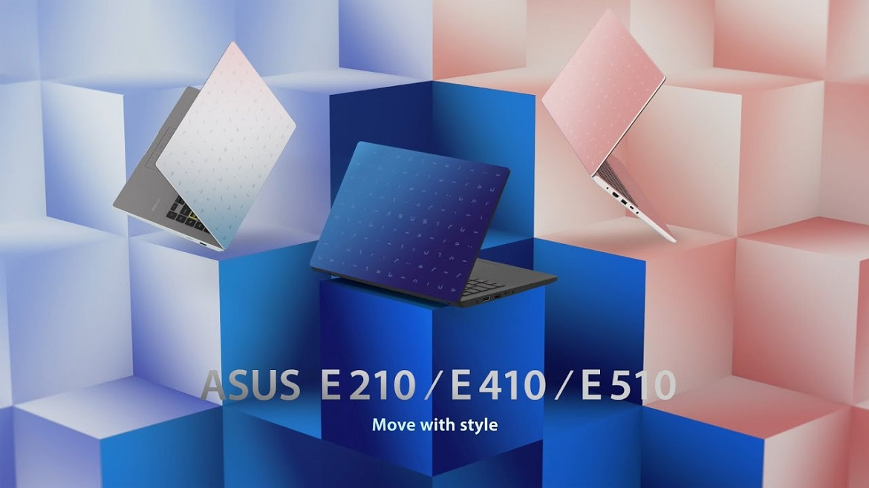 Анонс ноутбуков ASUS E210, E410 и E510